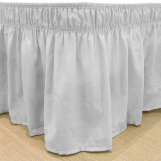 Copper Grove Fineshade Wrap Around Solid Ruffled Bed Skirt (2 options available)