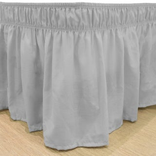 Copper Grove Fineshade Wrap Around Solid Ruffled Bed Skirt (3 options available)