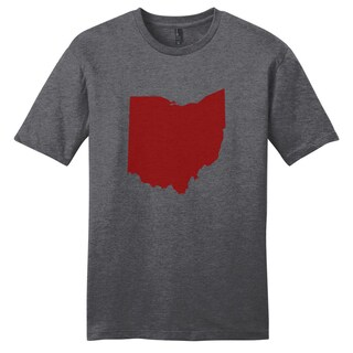 Ohio Silhouette Grey Unisex T-Shirt (More options available)