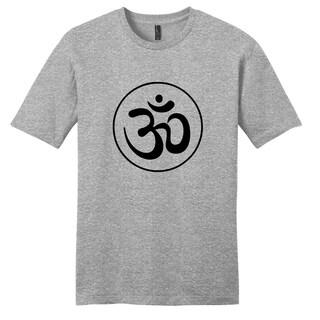 'Om' Grey Unisex T-Shirt