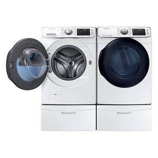 27-inch Front Load Washer and Electric Dryer