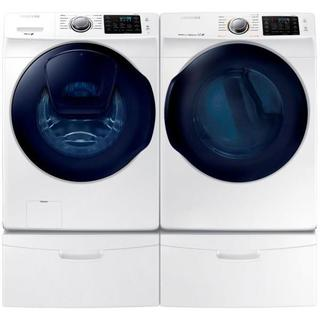 Samsung 27-inch Front Load Washer and Electric Dryer Set