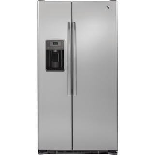 GE Stainless Steel 21.9 cu.ft. Side-By-Side Refrigerator