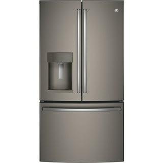 GE Energy Star Slate Grey 27.8 Cubic Foot French-door Refrigerator