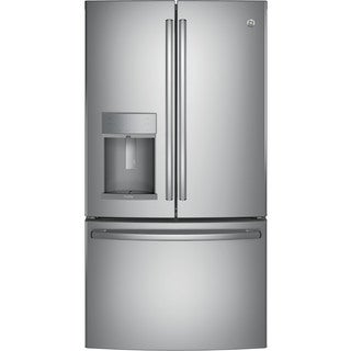 GE Profile Series Energy Star Stainless Steel 22.2 cu.ft. French-Door Refrigerator with Hands-Free Autofill