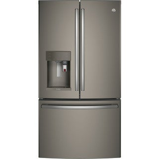GE Profile Series Energy Star Counter-depth French-door Refrigerator with Keurig K-Cup Brewing System