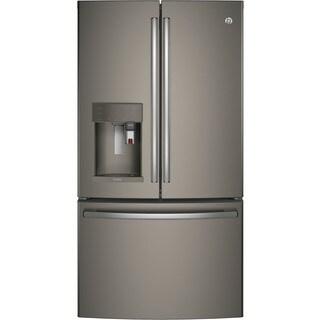 GE Profile Series Energy Star 27.8 cubic feet French-Door Refrigerator with Keurig K-Cup Brewing System