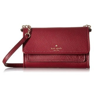 Kate Spade New York Cobble Hill Gracie Merlot Crossbody Handbag