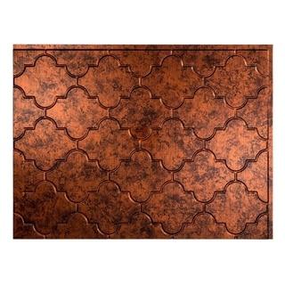 Fasade Monaco Moonstone Copper 18-square Foot Backsplash Kit