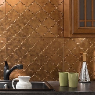 top product reviews for fasade monaco antique bronze backsplash panel