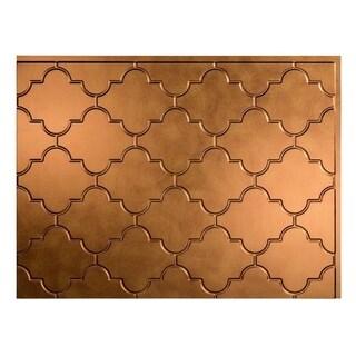Fasade Monaco Antique Bronze Backsplash Panel