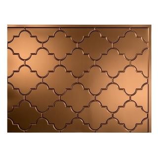 Fasade Monaco Oil-Rubbed Bronze Backsplash Panel