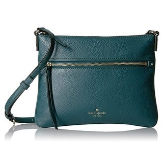 Kate Spade New York Cobble Hill Gabriele Emerald Forest Crossbody Handbag