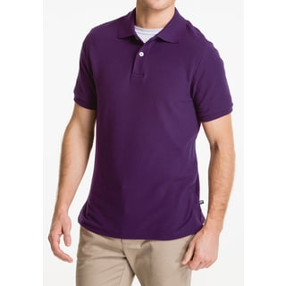 Lee Uniform Pique Purple Polo