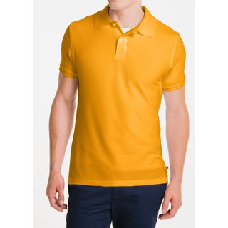 Lee Goldcolored Uniform Pique Polo