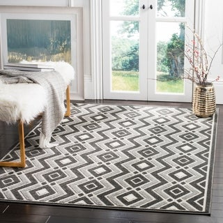 Safavieh Cottage Dark Grey / Light Grey Area Rug (4' x 6')