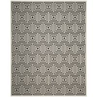 Safavieh Cottage Black / Creme Area Rug (4' x 6')