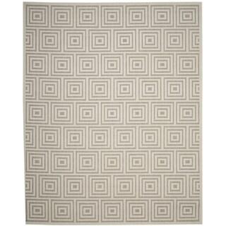 Safavieh Cottage Grey / Cream Area Rug (4' x 6')