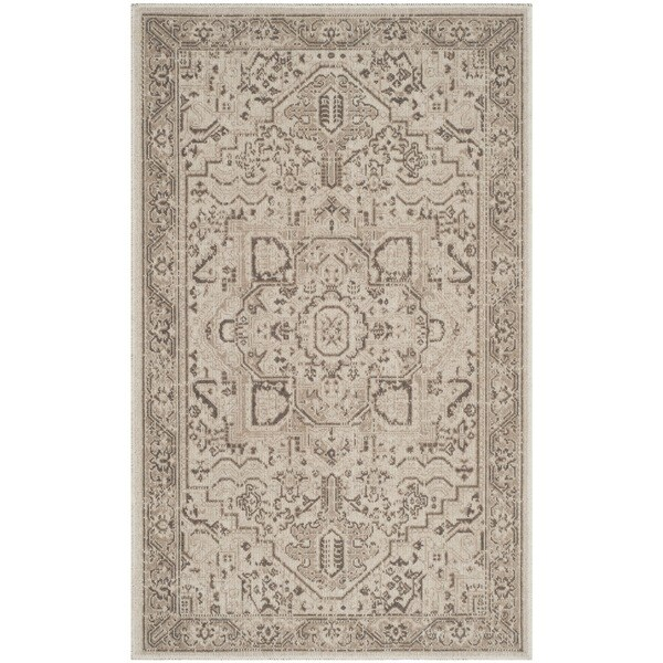 Safavieh Essence Natural / Taupe Area Rug (4' x 6')