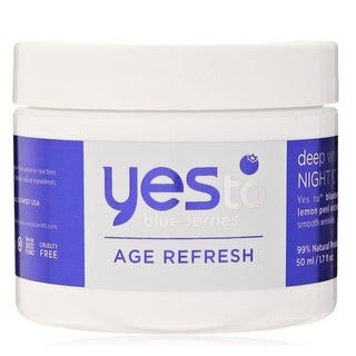 Yes To Blueberries Age Refresh 1.7-ounce Deep Wrinkle Night Cream