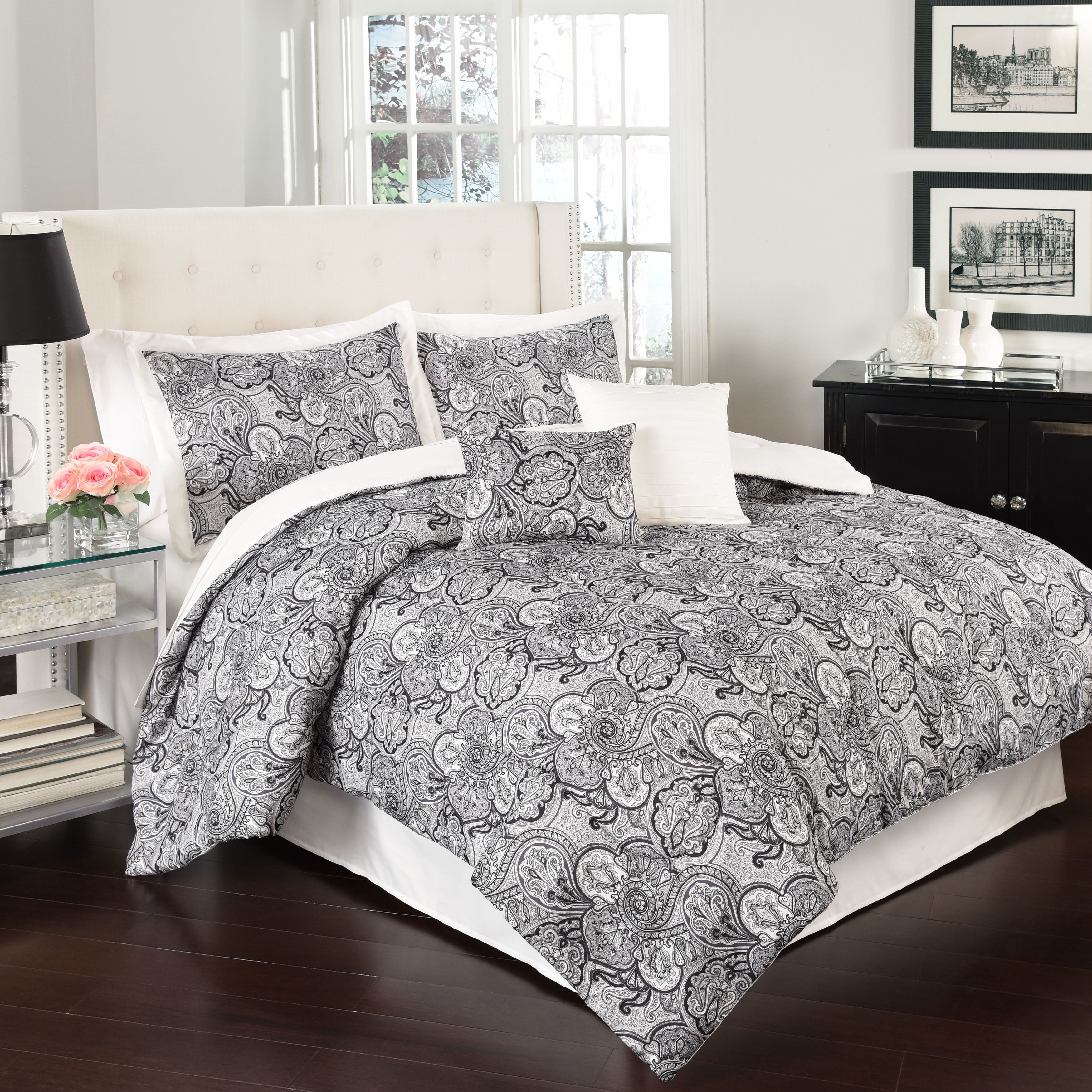 Traditions by Waverly Paddock Shawl 6 Piece Comforter Col...