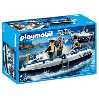 PlayMobil Patrol Boat