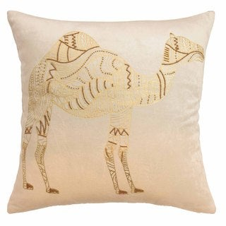 Blissliving Home Sabrine Cotton Beaded Decorative Pillow
