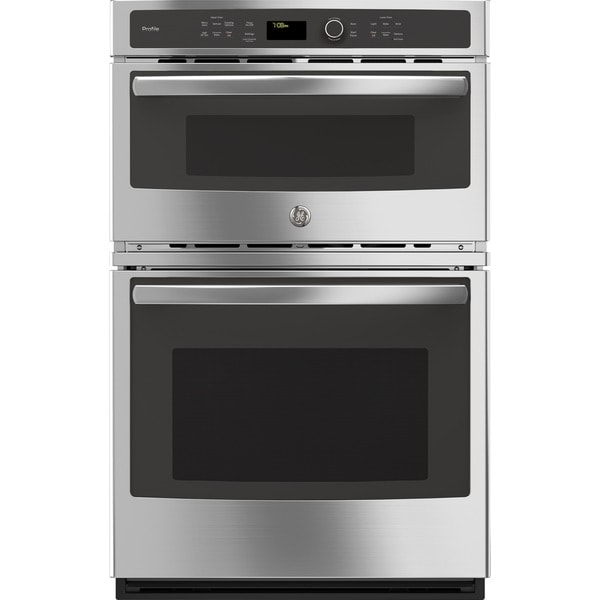 Ge Profile Series Stainless Steel 27 Inch Built In Combination Convection Microwave