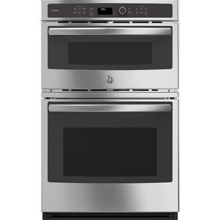 GE Profile Series Stainless Steel 27-inch Built-In Combination Convection Microwave/ Convection Wall Oven