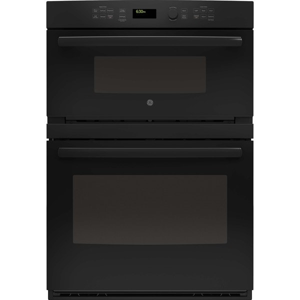 Ge 30 Inch Built In Black Combination Microwave Wall Oven