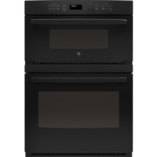 GE 30-inch Built-in Black Combination Microwave/ Wall Oven