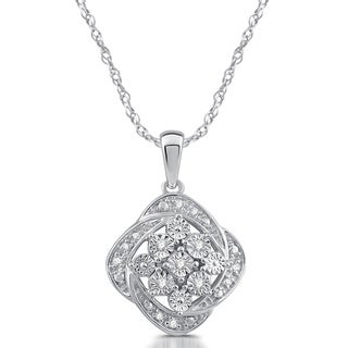 1/20 CTTW Diamond Fashion Pendent in Sterling Silver (I/J- I2)