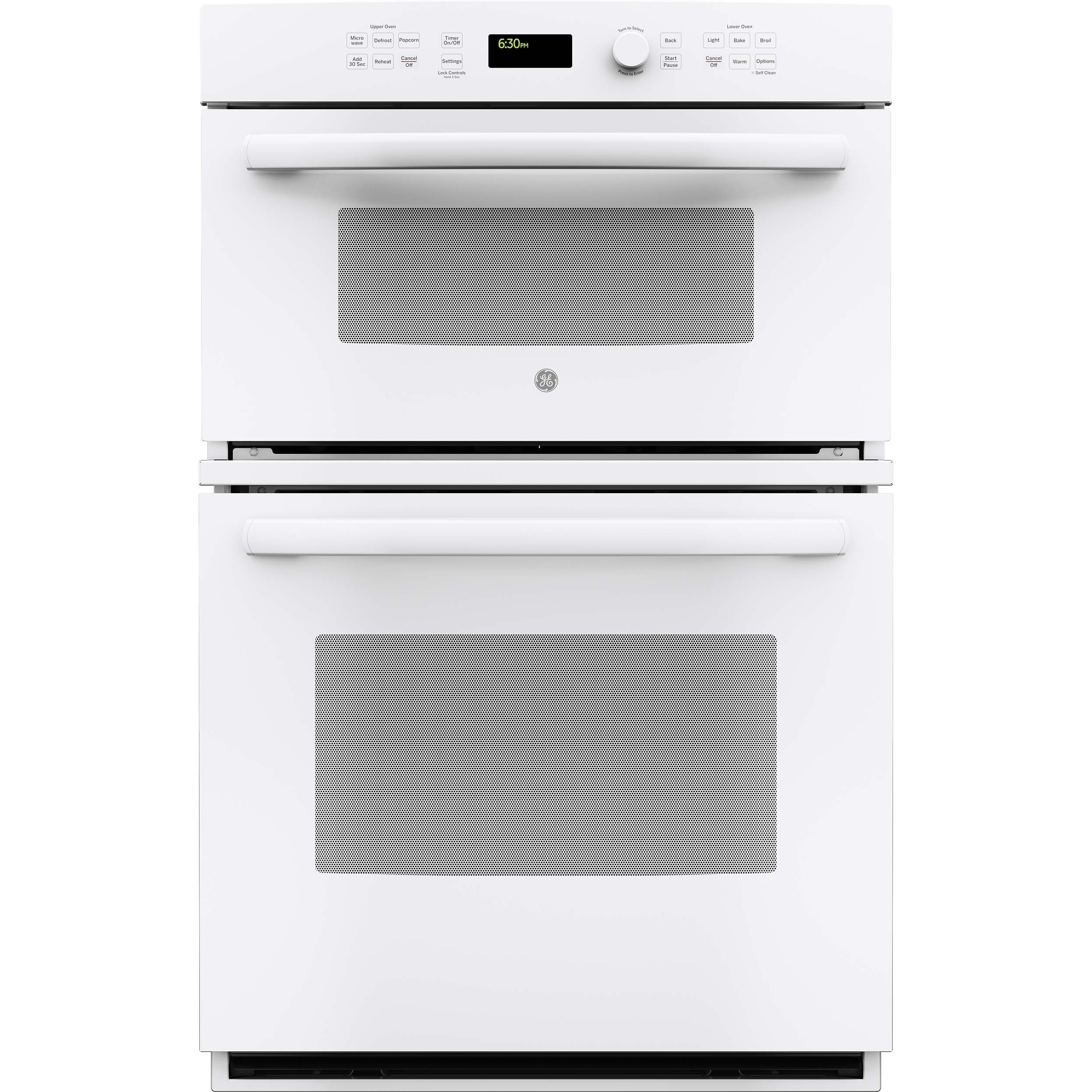 GE 27-inch White Built-in Combination Microwave/ Oven (wh...