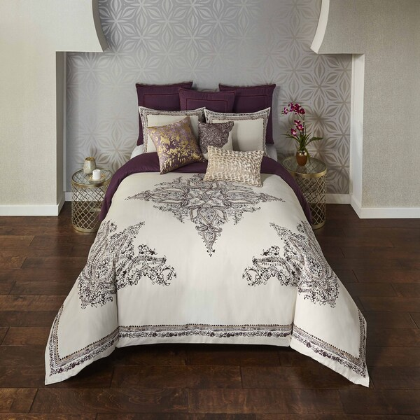 Blissliving Home Bahia Palace 100% Cotton 3 Piece Duvet Set