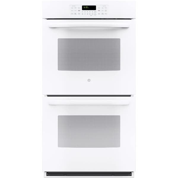 Ge White 27 Inch Built In Double Wall Oven 14193274