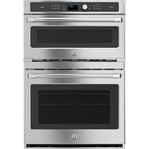 Shop Ge Cafe Series 30 Inch Combination Double Wall Oven