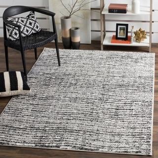 Safavieh Adirondack Modern Black/ Silver Area Rug (6' x 9')