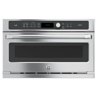 GE Cafe Series 30-inch Single Advantium Technology Wall Oven