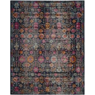 Safavieh Artisan Vintage Blue / Multi Cotton Rug (5' 1 x 7' 6)