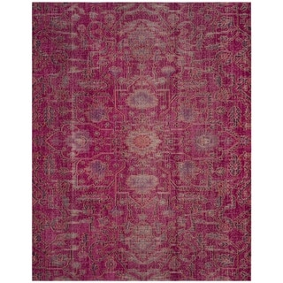 Safavieh Artisan Vintage Fuchsia Cotton Rug (5' 1 x 7' 6)