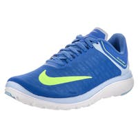 Nike Women's FS Lite Run 4 Blue Synthetic Leather Running Shoe