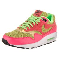 Nike Women's Air Max 1 SE Multicolored Synthetic-leather Running Shoes