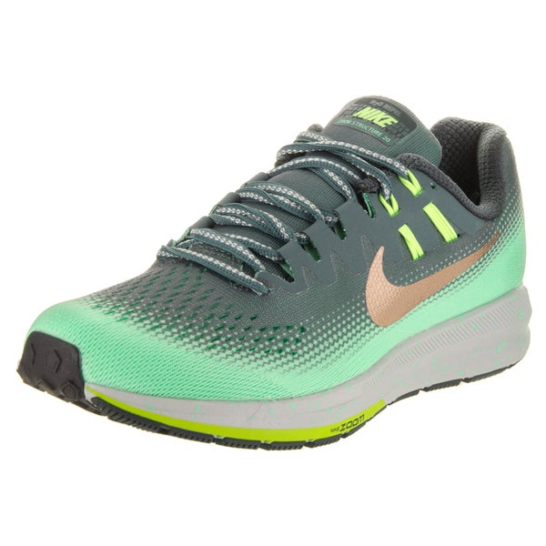 timeless design e5437 35cce Shop Nike Women's Air Zoom Structure 20 Shield Green ...