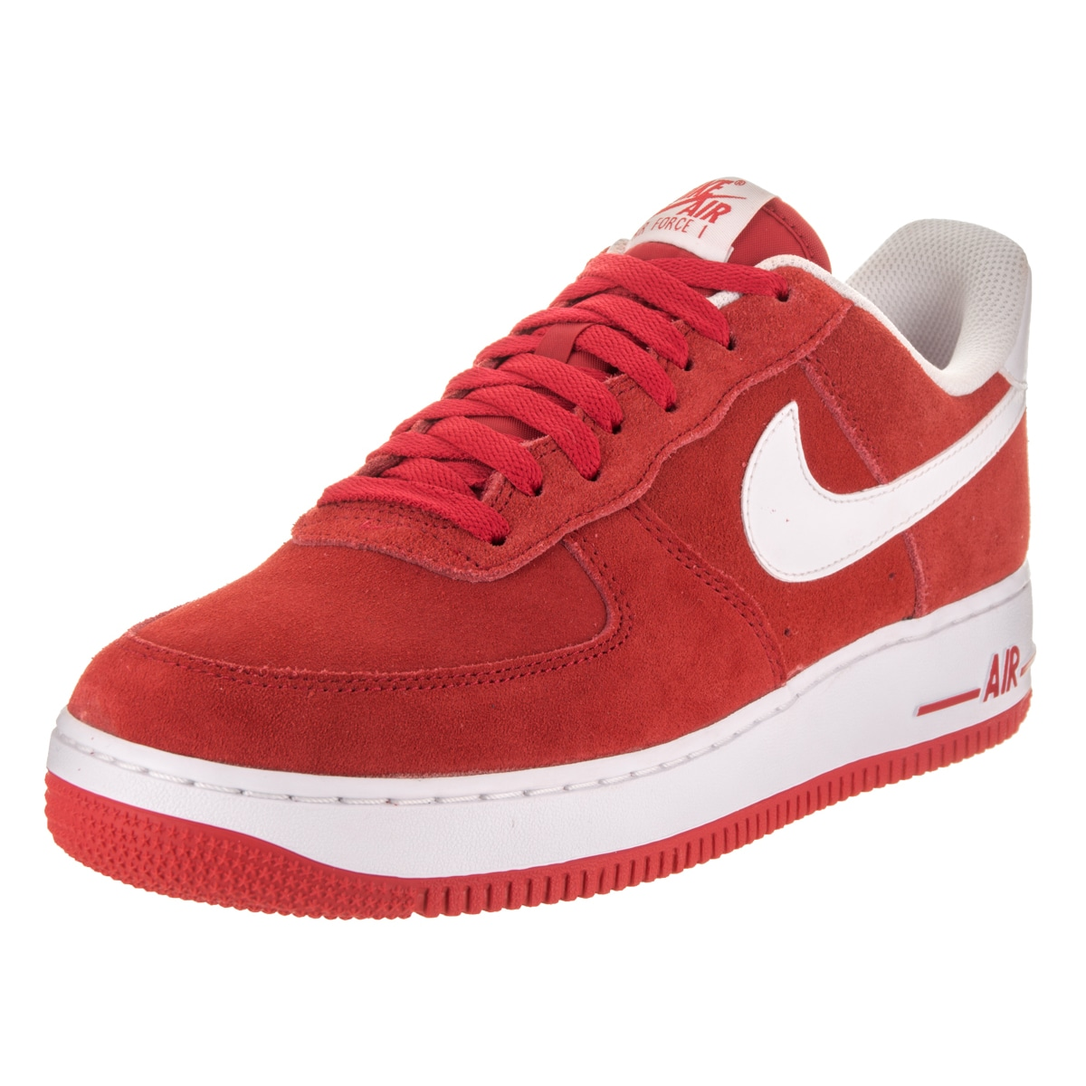 Nike Men's Air Force 1 '07 Basketball Shoes (12), Red