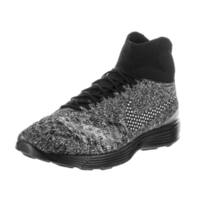 Nike Men's Lunar Magista II FK FC Black Textile Training Shoes