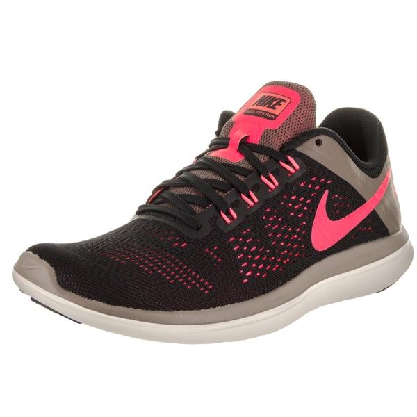 4276c81c5c2 Nike Women s Flex 2016 Rn Black Textile Running Shoes - Free ...