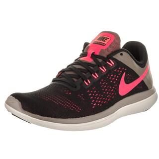 Nike Women's Flex 2016 Rn Black Textile Running Shoes