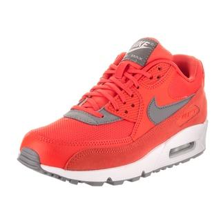 Nike Women's Air Max 90 Orange Suede Running Shoe