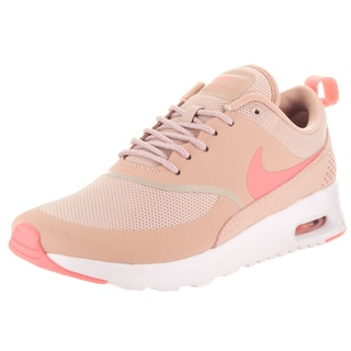 Nike Women's Air Max Thea Pink Textile and Leather Running Shoe