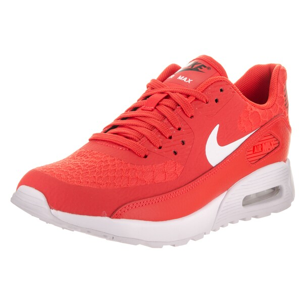 Shop Nike Women's Air Max 90 Ultra 2.0 Orange Running Shoes